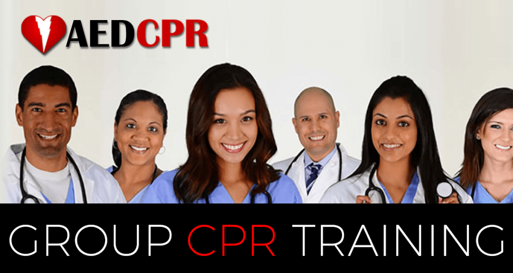 Group CPR Training